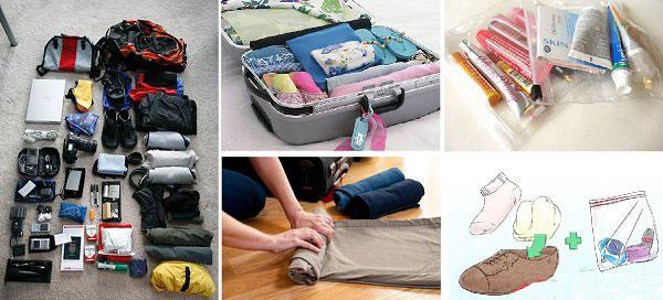 Chuẩn bị hành lý đi du lịch mùa mưa bão