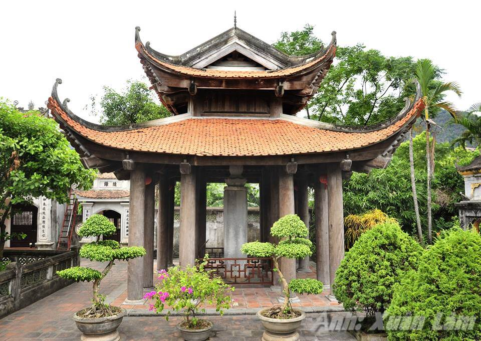 Di tích chùa Nhất Trụ nằm trong hệ thống di tích của tỉnh Ninh Bình
