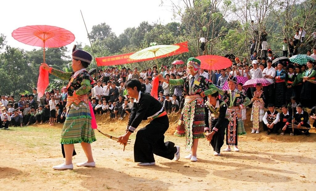 lễ hội Tết tại Sapa