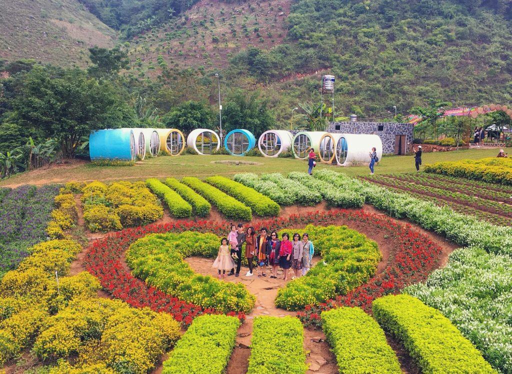 Vườn hoa Happyland