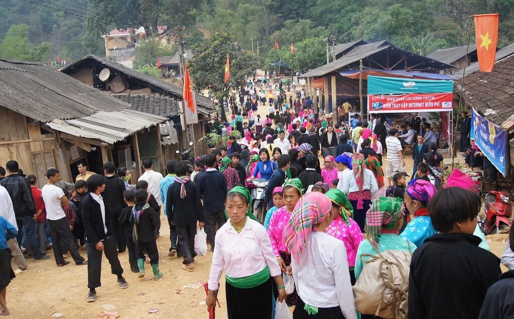 Lễ hội Hà Giang chợ tình Khâu Vai