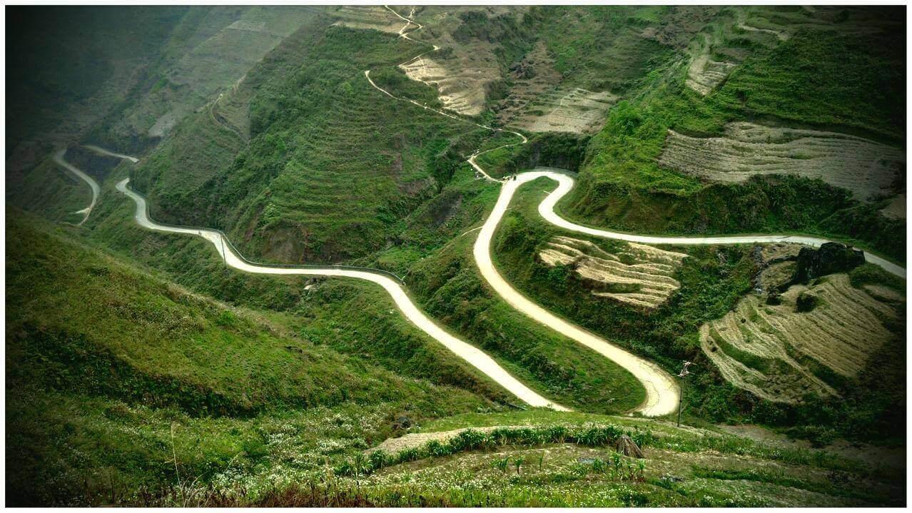 Trải nghiệm du lịch Hà Giang - Đèo Mã Pí Lèng