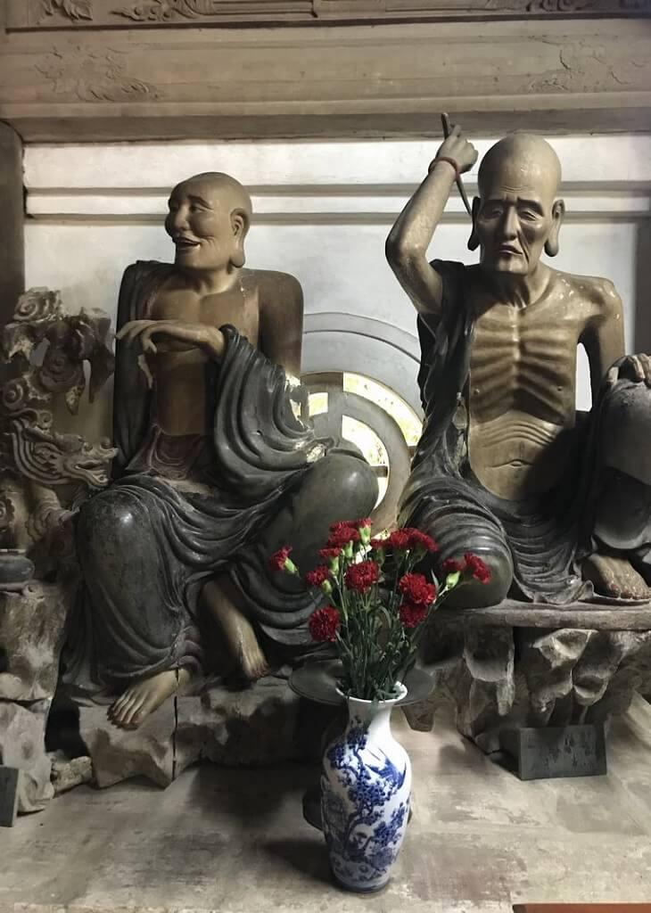 lá hán chùa tây phương