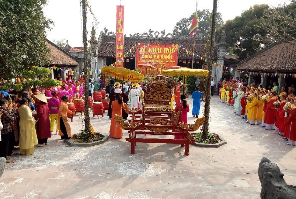 Lễ hội chùa Bà Đanh