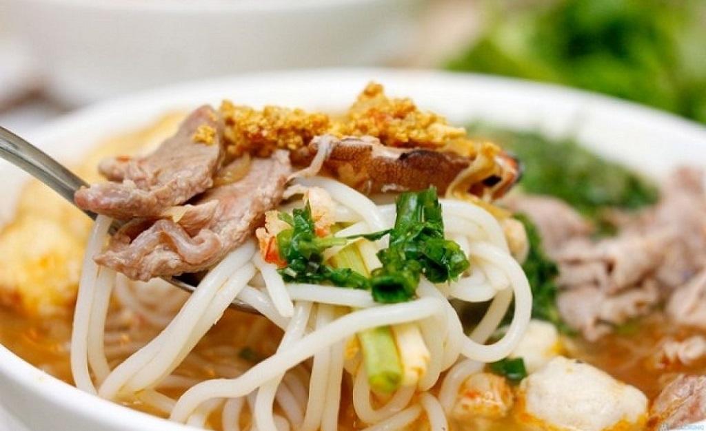 đặc sản Nam Định bún đũa