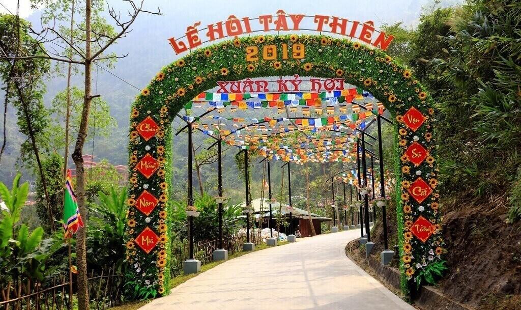 lễ hội chùa tây thiên vĩnh phuc