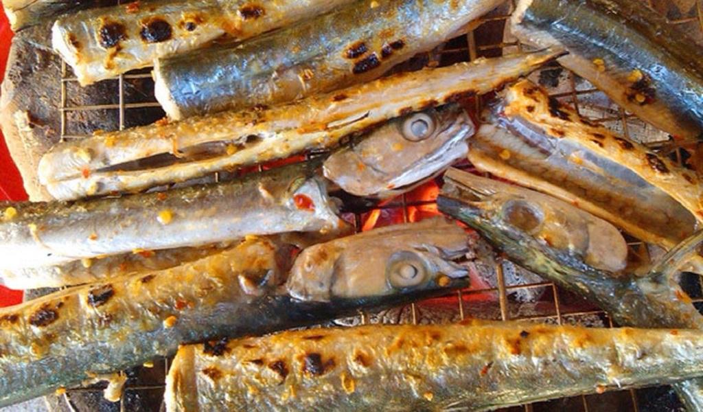 cá xương xanh nướng
