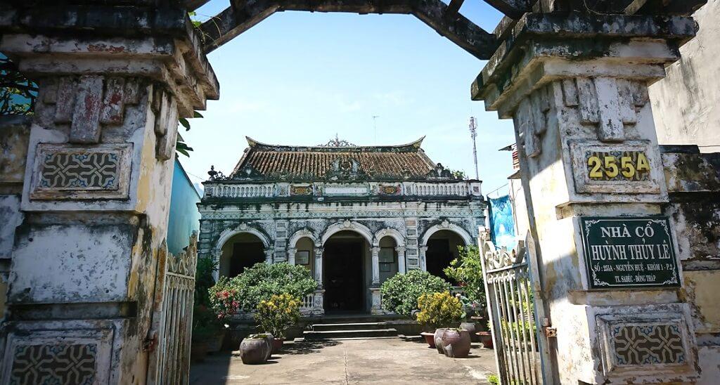 Nhà cổ Huỳnh Thủy Lê sa đéc