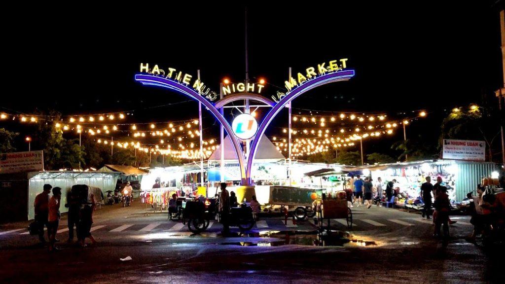 Chợ đêm Hà Tiên