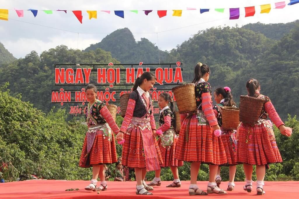 lễ hội hái mận mộc châu