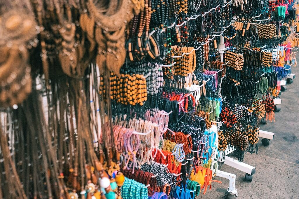 Chợ nghệ thuật Sukawati, chợ đường phố nổi tiếng Bali